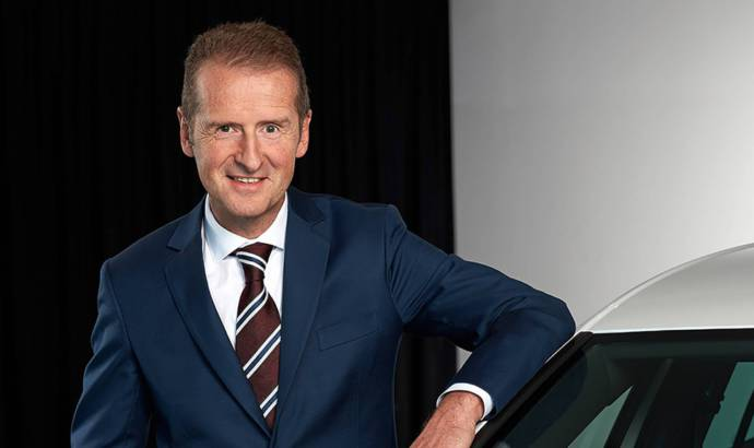 Herbert Diess is the new Volkswagen brand chief