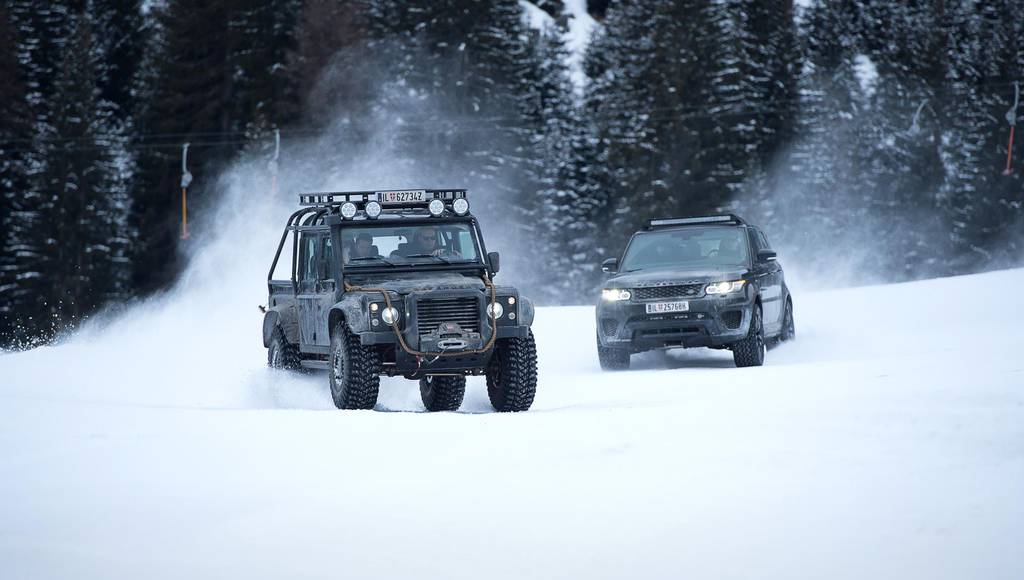 Jaguar and Land Rover sign partnership with 007 Elements