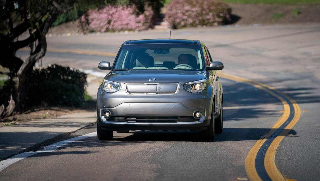 Kia Soul EV developed a wireless charging system