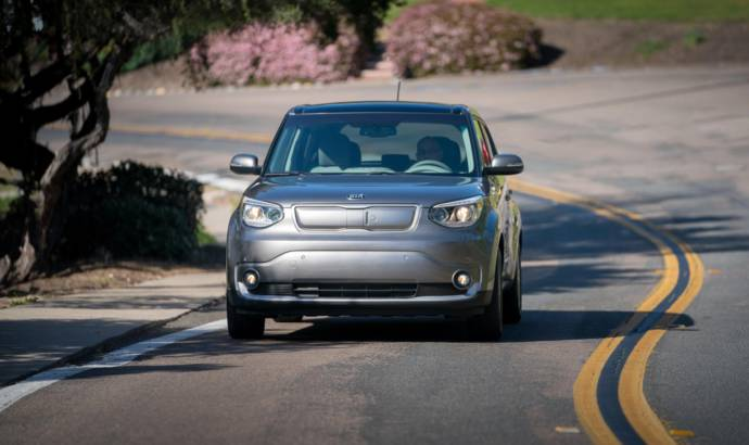 Kia Soul EV developed a wireless charging system