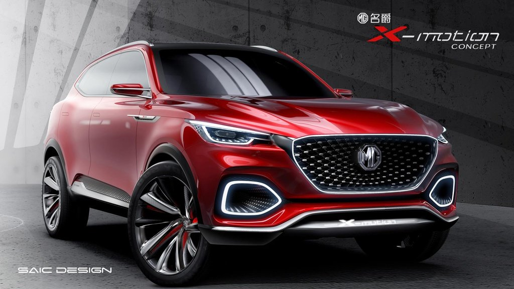 MG X-Motion Concept unveiled in Beijing