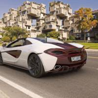 McLaren 570S Spider MSO editions launched in Canada