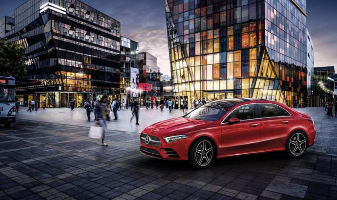 Mercedes A-Class L Saloon launched in China