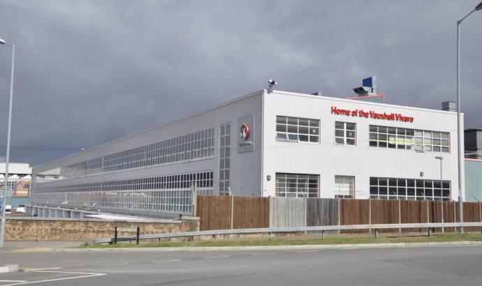 New factory for future 2019 Opel Vivaro