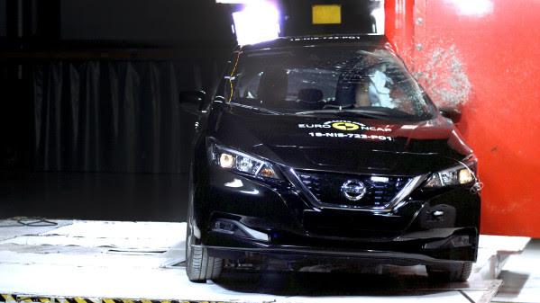Nissan Leaf scores 5 stars in EuroNCAP