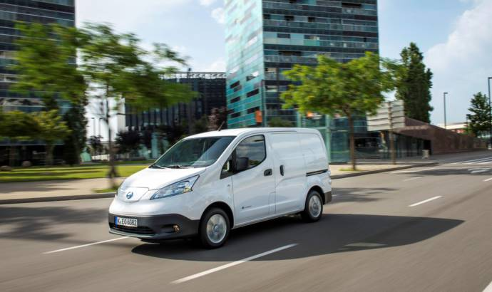 Nissan launches new e-NV200 in UK