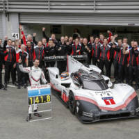 Porsche 919 Hybrid Evo sets track record at Spa-Francorchamps