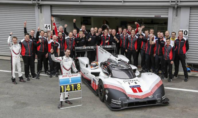 Porsche 919 Hybrid Evo sets track record at Spa-Francorchamps