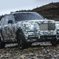 Rolls Royce Cullinan enters its final stage of development