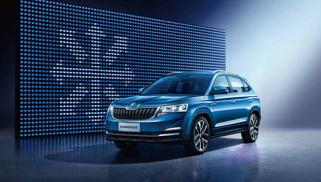 Skoda Kamiq - official pictures and details with the SUV that will be sold exclusively in China