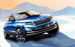 Skoda third SUV teased ahead its launch in Beijing Motor Show
