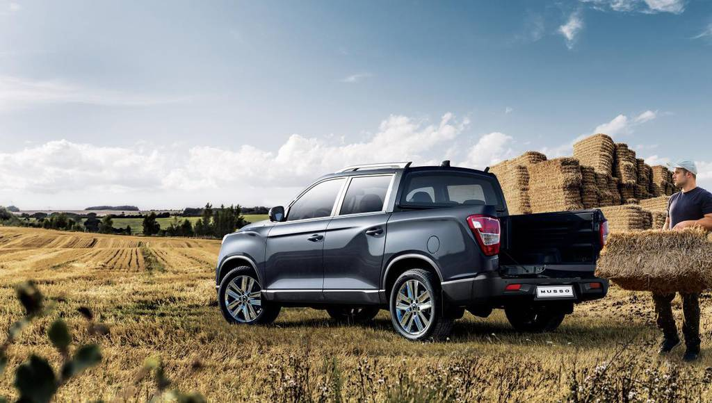 Ssangyong Musso pick-up returns to UK