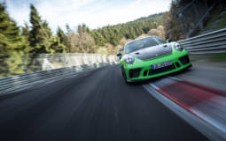 The Porsche 911 GT3 RS facelift did a lap of the Nurburgring in less than 7 minutes