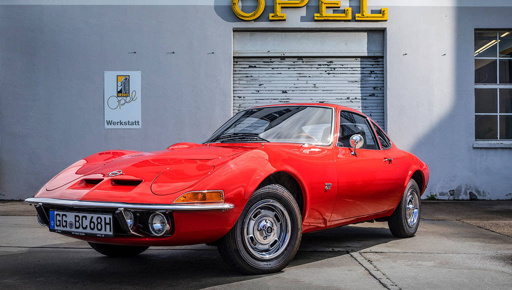 The famous Opel GT turns 50