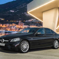 The revised 2018 Mercedes-Benz C-Class is available in Germany