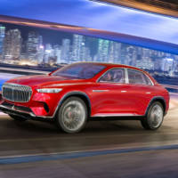 This is the all-new Vision Mercedes-Maybach Ultimate Luxury concept