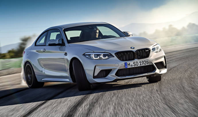 This is the new BMW M2 Competition - it packs 410 horsepower and does not to 100 km/h in 4.2 seconds
