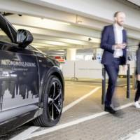 Volkswagen testing autonomous parking technology