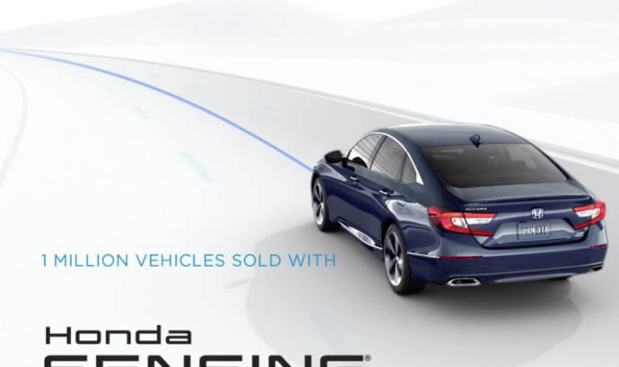 Honda Sensing reaches one million clients in US