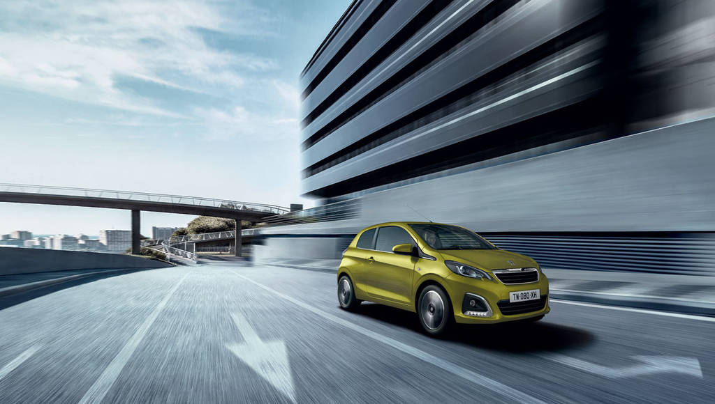 2018 Peugeot 108 facelift introduced