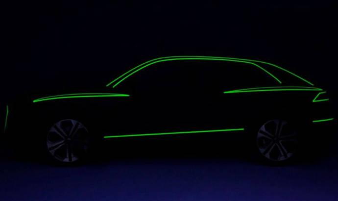 Audi Q8 - first video teaser
