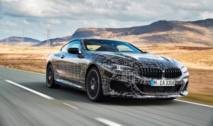 BMW finishing tests on the current 8 Series Coupe