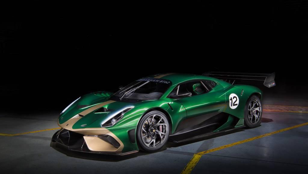 Brabham BT62 supercar revealed