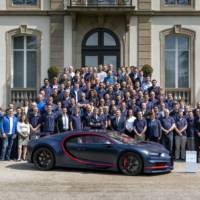 Bugatti Chiron reaches 100th unit produced