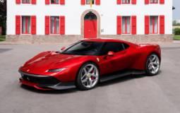 Ferrari SP38 unique model created