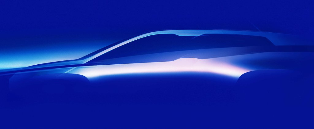 First teaser of the upcoming BMW iNext Concept - the production model will start a new era
