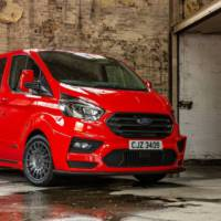 Ford has a Transit Custom with rally cues