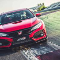 Honda Civic Type R is the fastest front-wheel-drive model on Magny Cours