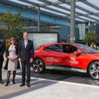 Jaguar I-Pace is the electrified star on Heathrow