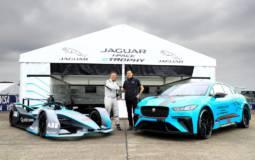 Jaguar I-Pace makes debuts as Formula E Pace Car