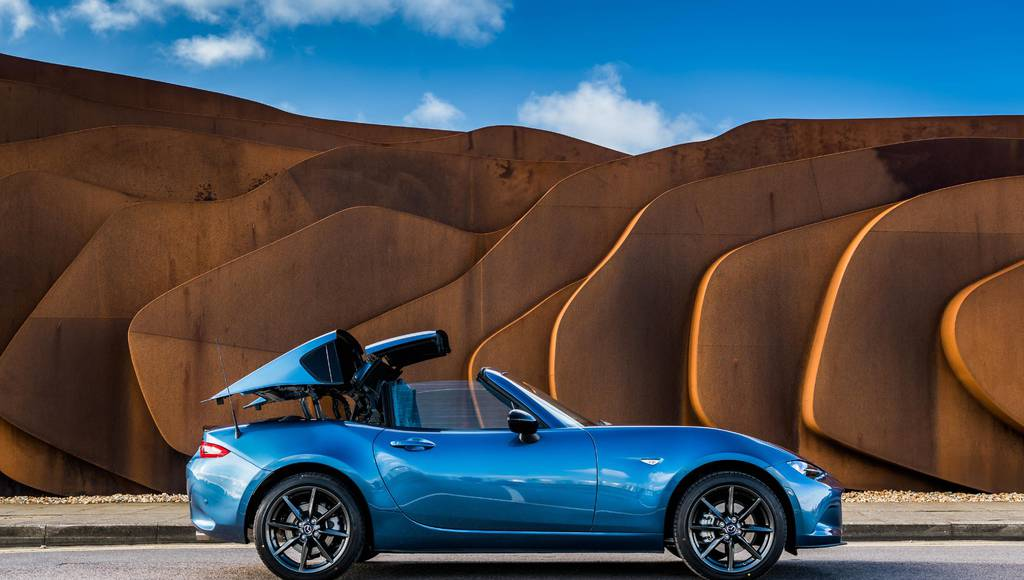 Mazda MX-5 RF Sport Black launched in UK