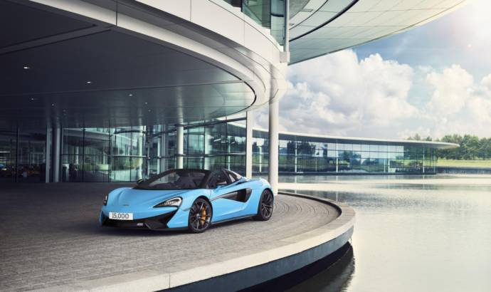 McLaren celebrates 15.000 units produced