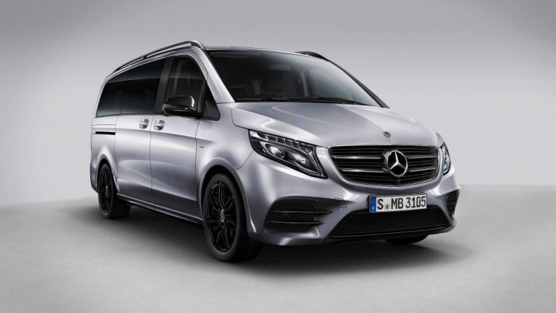 Mercedes-Benz V-Class is now available in a Night Edition version
