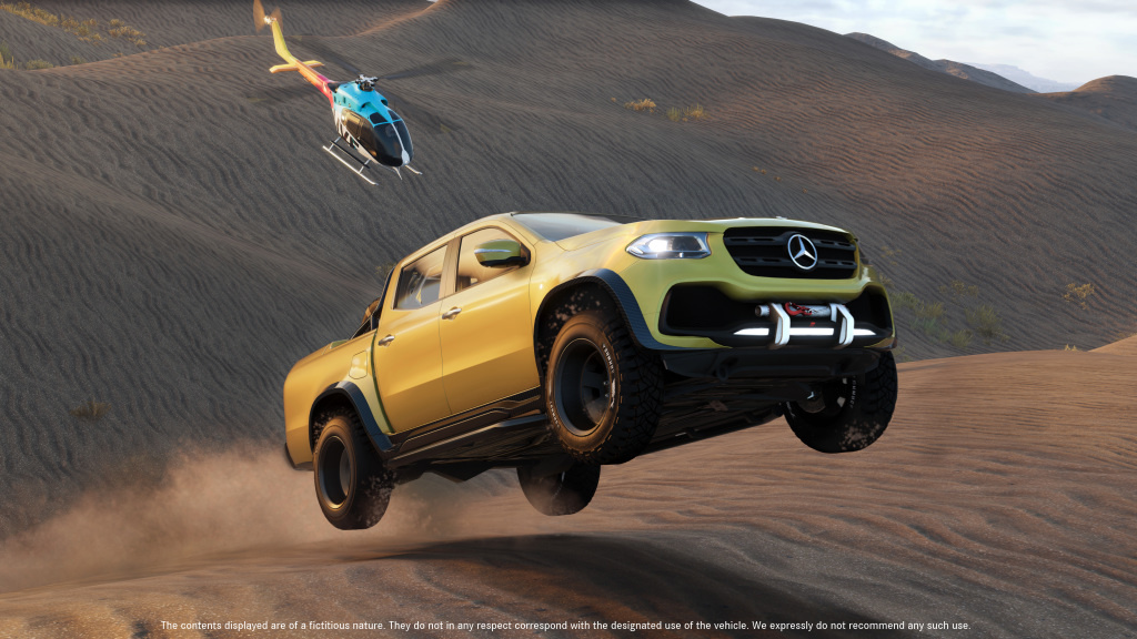Mercedes-Benz X-Class will be available in the upcoming video game The Crew 2