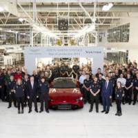 New Aston Martin Vantage enters production