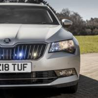 Skoda Superb offered with bullet resistant armour