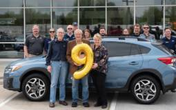 Subaru sold its 9 millionth car in US