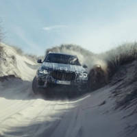 The first official pictures of the upcoming BMW X5 - the car is camouflaged