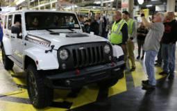 The last Jeep Wrangler JK has been built