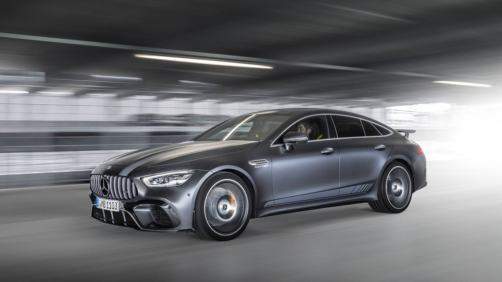 This is the new Mercedes-AMG GT 63 S 4MATIC Edition 1