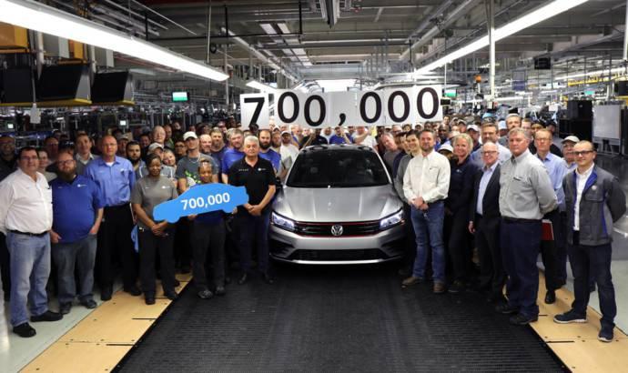 Volkswagen Chattanooga plant reaches milestone