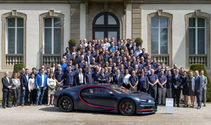 Bugatti Chiron reaches 100th unit produced
