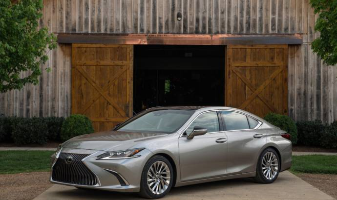 2019 Lexus ES official informations released