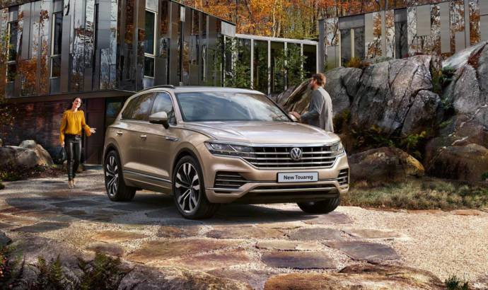 2019 Volkswagen Touareg available to order in UK