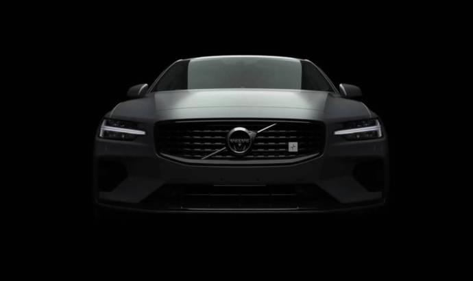 2019 Volvo S60 - new video teaser