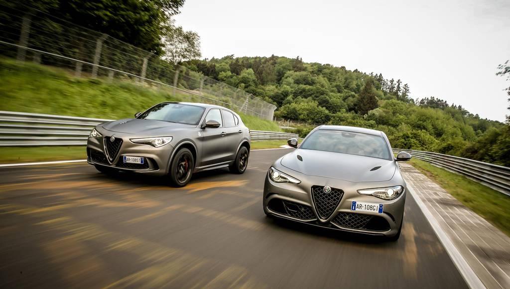 Alfa Romeo Stelvio Quadrifoglio NRING and Giulia Quadrifoglio NRING